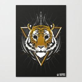 The Blackout Tiger Canvas Print