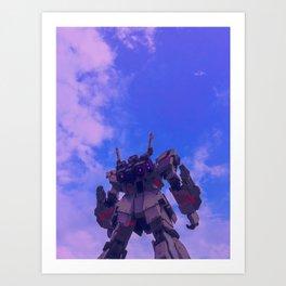 Gundam Wing Art Print