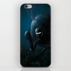 Smooth robot iPhone & iPod Skin