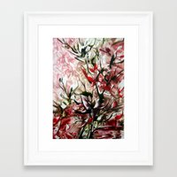 magnolia Framed Art Prints featuring Magnolia by ART de Luna