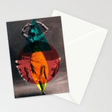 dance in shape Stationery Cards