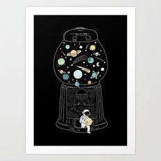 My Childhood Universe 2 Art Print