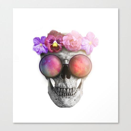 "Mortem in Gloria ""Helbi"" Canvas Print"