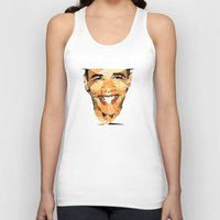 obama Tank Tops featuring ICONS: Obama by LeeandPeoples