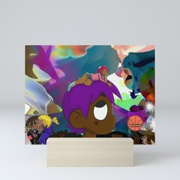 Lil Uzi Vert vs The World album cover Mini Art Print