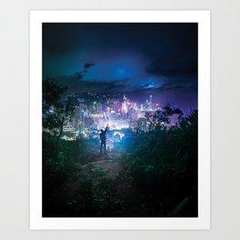 colourvision Art Print