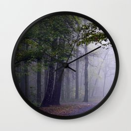 MISTY DAY Wall Clock