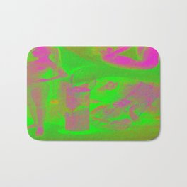 Imaginary paradise Bath Mat
