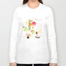 temari sushi Long Sleeve T-shirt