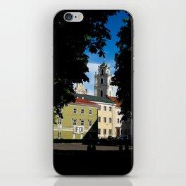 Vilnius university iPhone Skin