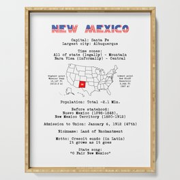 New Mexico Serving Tray