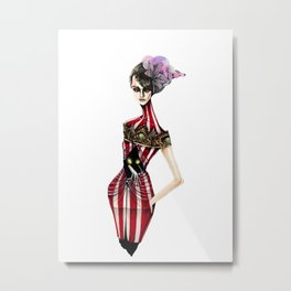 Carnivale Metal Print