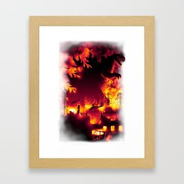 Oh, no! There Goes Tokyo! Framed Art Print