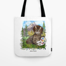 Bobcat Ross Tote Bag
