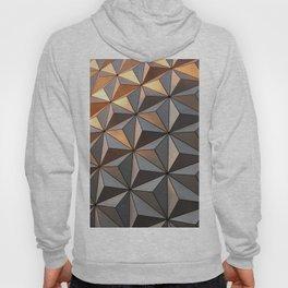 Triangle pattern 3d Hoody