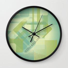 Colli Asolani #everyweek 8.2017 Wall Clock
