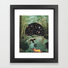 Forest dream Framed Art Print