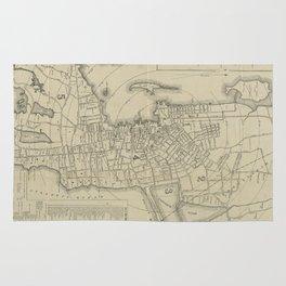 Vintage Map of Newport Rhode Island (1901) Rug