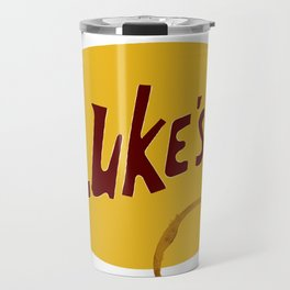 Luke's Diner (Coffee Stain, No Border) Travel Mug