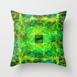 Star Squirt Opening II Throw Pillow