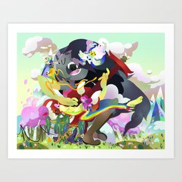 I'll miss you Art Print