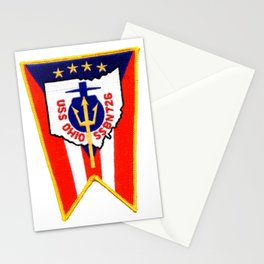 USS OHIO (SSBN-726) PATCH Stationery Cards