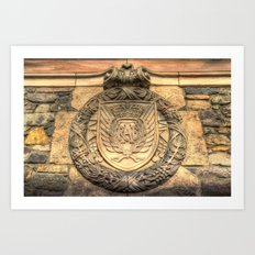 Royal Airforce Insignia Art Print