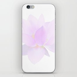 Morning Dew on the Petals iPhone Skin