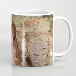 Brown Seahorse Coffee Mug