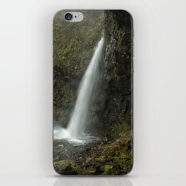 Upper Latourell Falls, No. 2 iPhone Skin