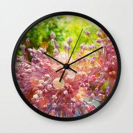 Crépuscule Wall Clock