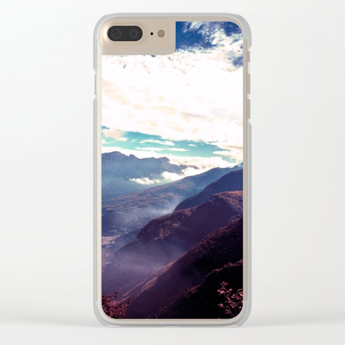 Make It Possible (Purple) Clear iPhone Case
