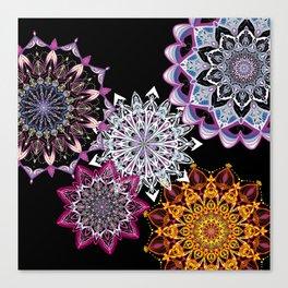 Arsenic & Old Lace - Mandala Canvas Print
