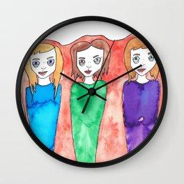 The Three Wall Clock