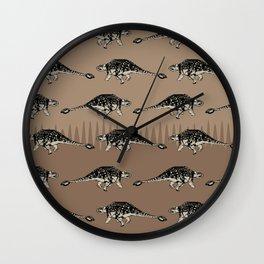 ChocoPaleo: Ankylosaurus Wall Clock