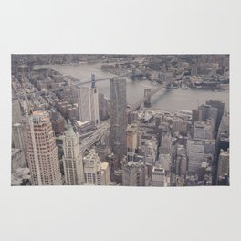 New York City from Above Rug