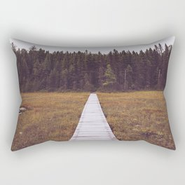 Fall Hiking Rectangular Pillow