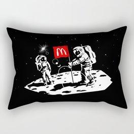First we take Manhattan, Then we take Moon Rectangular Pillow
