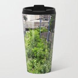 Envahi par la Végétation // Invaded by Vegetation Travel Mug