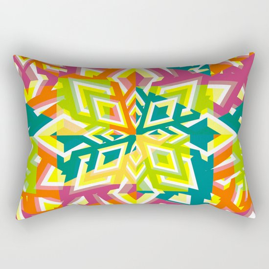 Floral pieces Rectangular Pillow