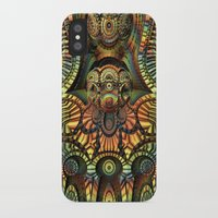 totem iPhone & iPod Cases featuring Totem by Lyle Hatch