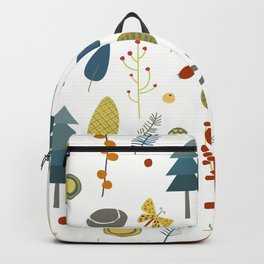 Deer and Forest Things Backpack