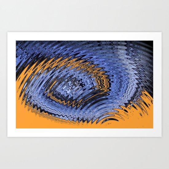 The art of self Abstract Art Print