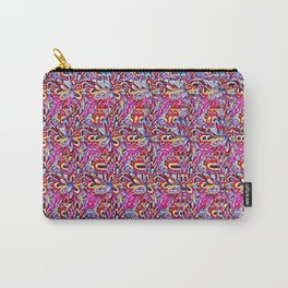 Beautiful Models in Bright Colors Stereogram Carry-All Pouch