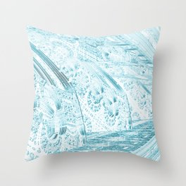 Cannon Battery (Edged) Throw Pillow
