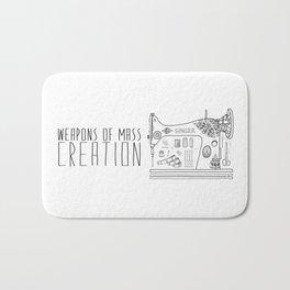 Weapons Of Mass Creation - Sewing Bath Mat