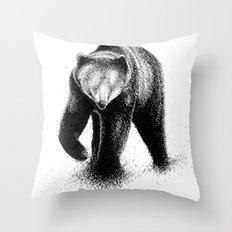 B-Bear Throw Pillow