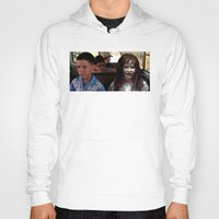 forrest gump Hoodies featuring POSSESSED REGAN IN FORREST GUMP by Luigi Tarini