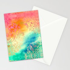 Watercolor Wonderland Stationery Cards