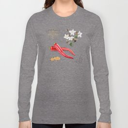 Chilli Peppers and Pollinators Long Sleeve T-shirt